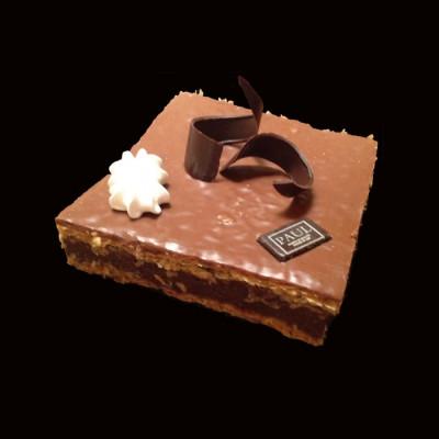 Le mille-feuille chocolat 12 personnes