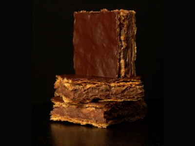 Le mille-feuille chocolat