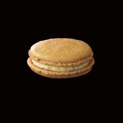 Le grand macaron vanille