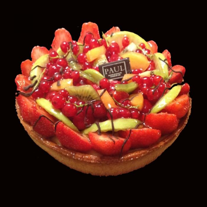 La petite tarte multifruits (4 personnes)